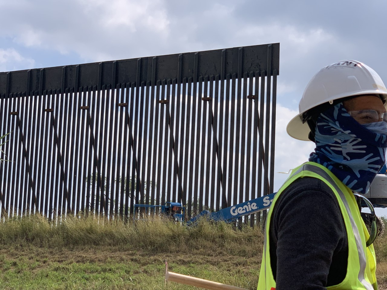 Border wall construction forging ahead with Biden months away from taking office