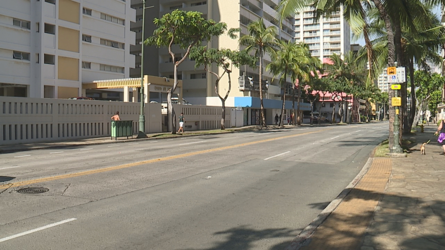 Man dies after Christmas eve traffic accident in Waikiki in Hawaii