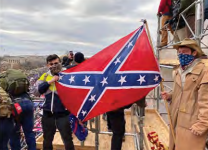 Alleged white supremacist arrested after ankle monitor puts him at Capitol riot