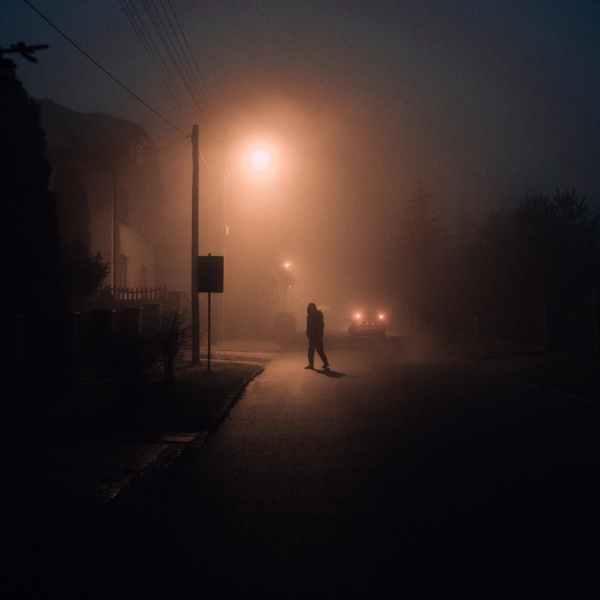 light city dawn landscape
